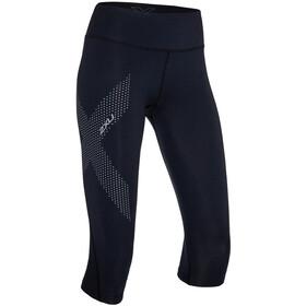 2XU Mid-Rise Compression pantaloncini da corsa Donna nero